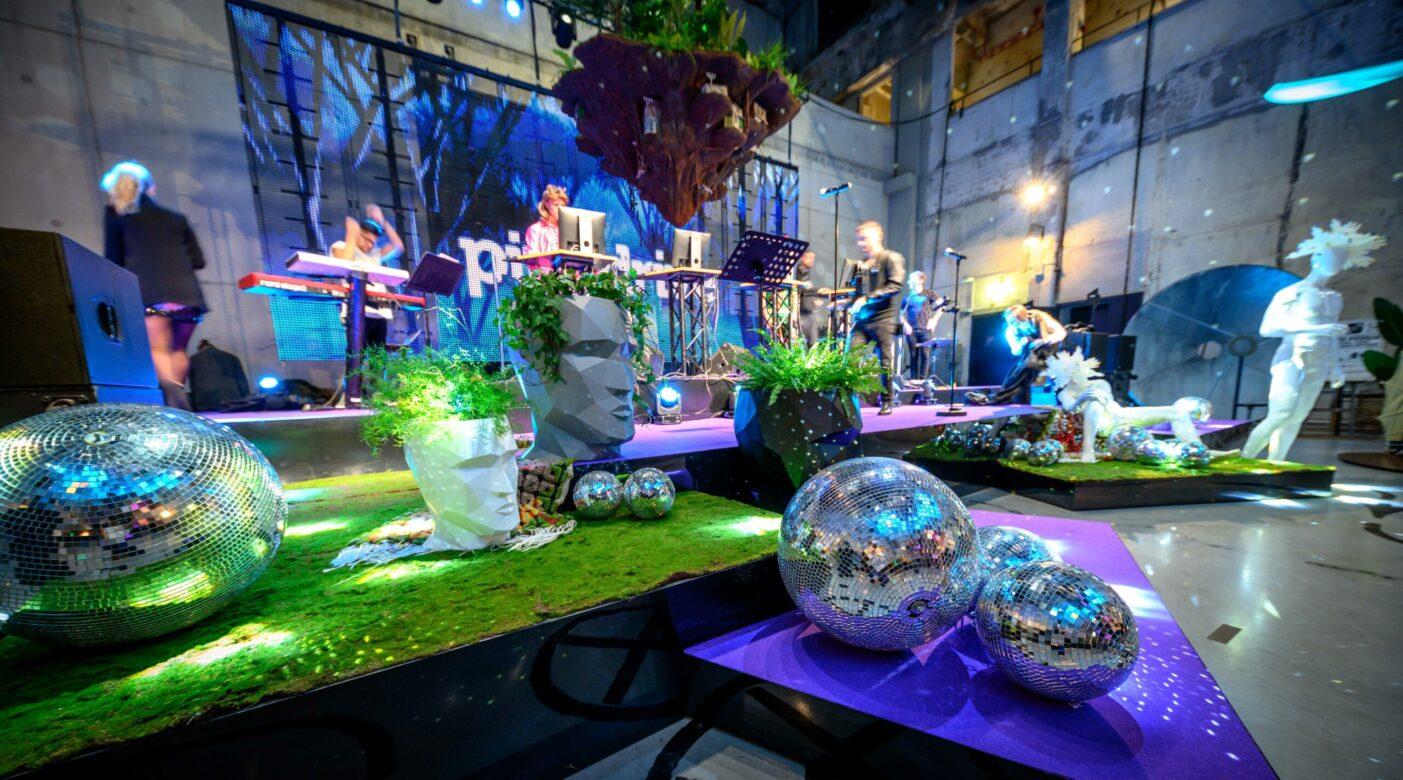 Firmaürituse dekoreerimine, dekoratsioonid üritusele, dekoratsioonid lavale
