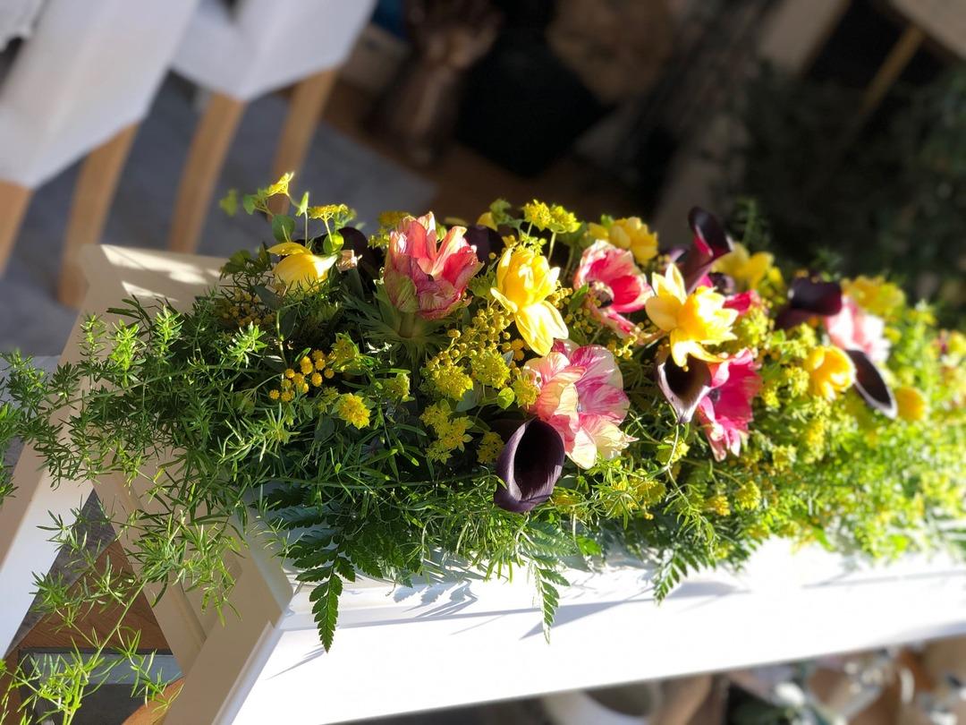lilleseaded üritusele, dekoratsioonid lilledest