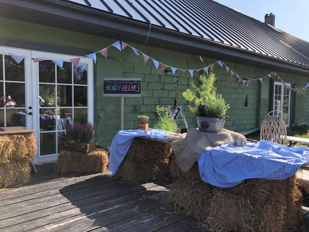 Country Style party decorations