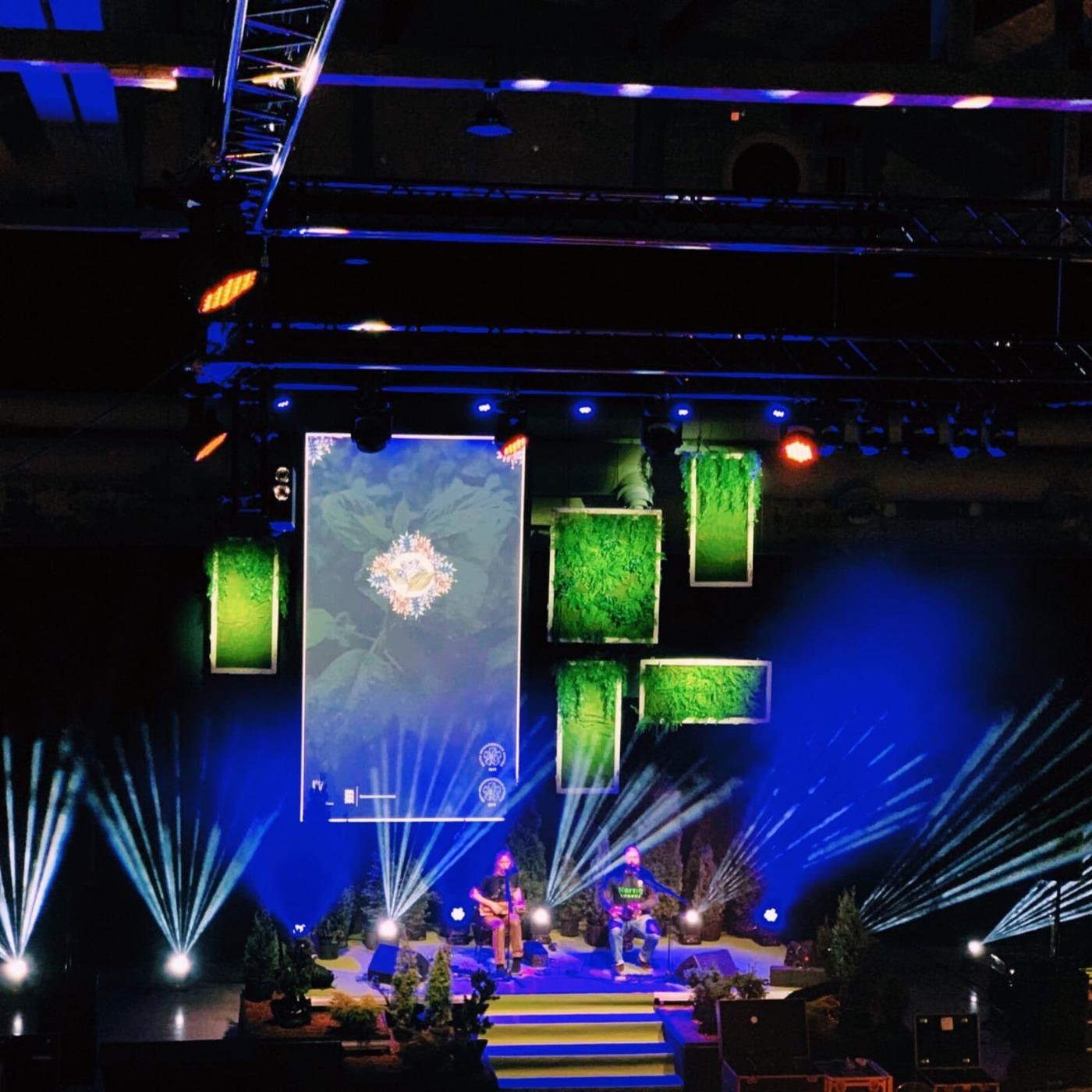 ürituste dekoreerimine, dekoratsioonid lavale